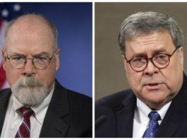 Attorney John Durham and Attorney General William Barr