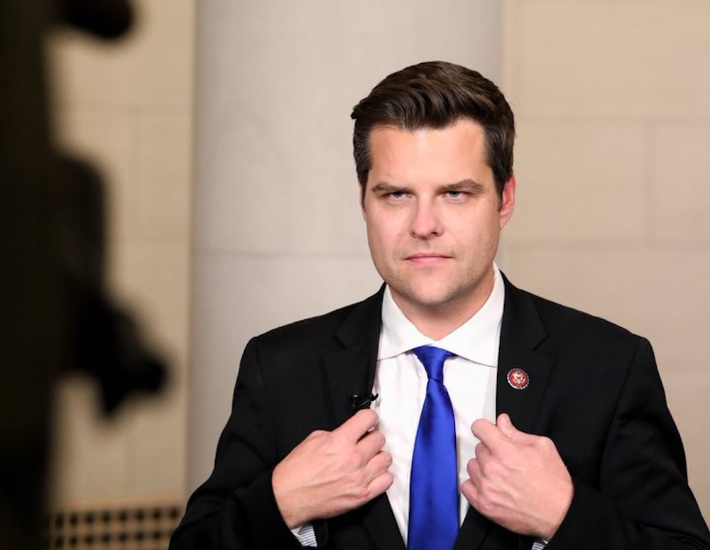 Matt Gaetz Blows the Lid on 'Secret' GOP Group