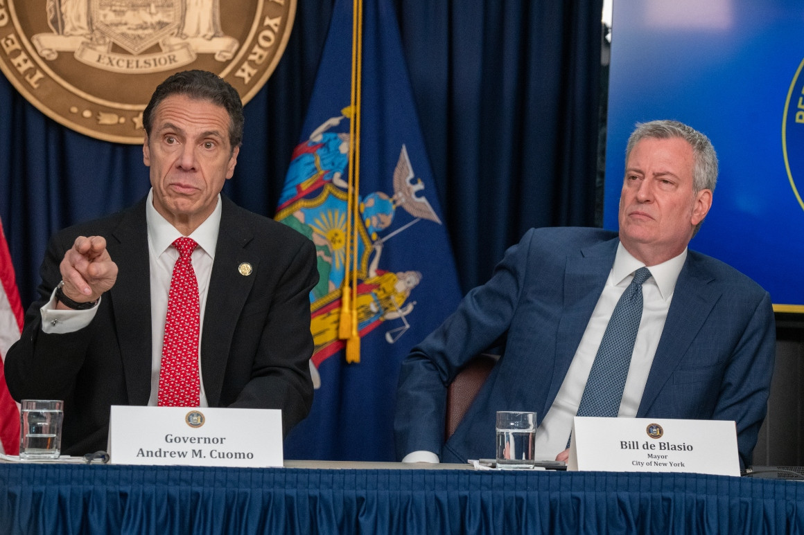 WHOA: De Blasio Just Turned on Cuomo...Democrat Party Falling Apart at the Seams