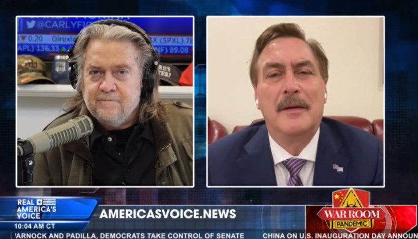 Mike Lindell and Steve Bannon Interview