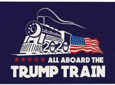MAGA 2.0 Trump Train Rolls into Town