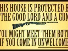 Break in Foiled By Homeowner with Gun