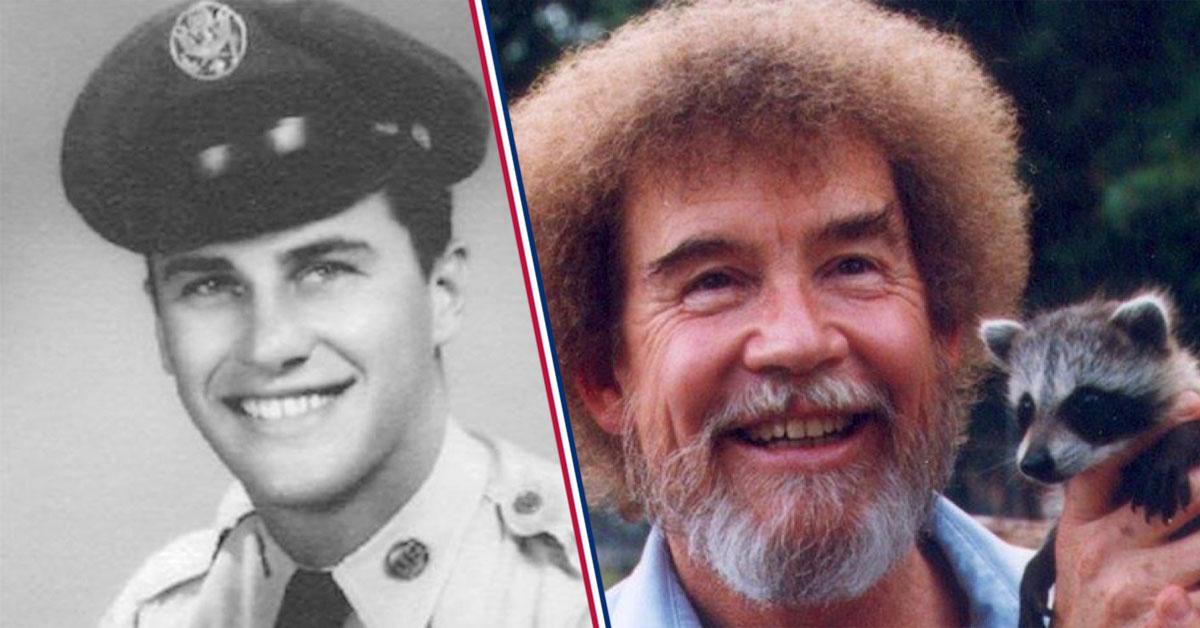 Bob Ross famous veterans