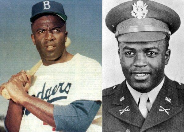Jackie Robinson famous veterans