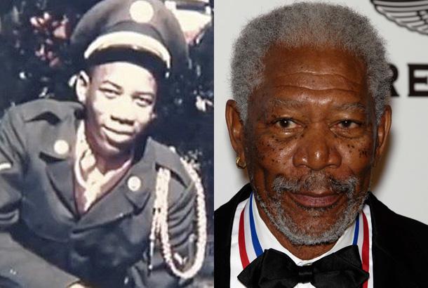 Morgan Freeman famous veteran