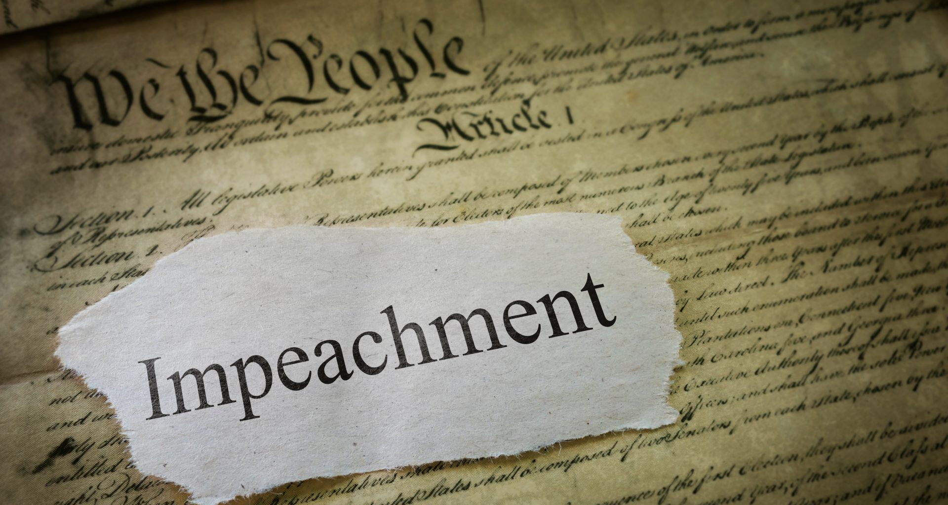 New Articles of Impeachment Drawn Up