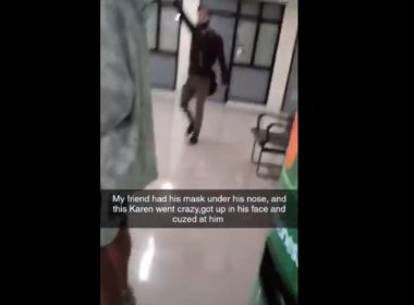 Another Teacher Caught on Cam
