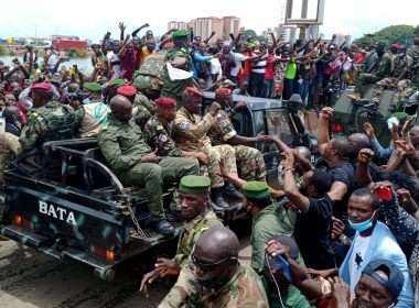 Military Physically Removes President
